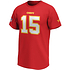 Fanatics Kansas City Chiefs T-Shirt Iconic N&N Mahomes 15 rot (2)