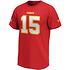 Fanatics Kansas City Chiefs T-Shirt Iconic N&N Mahomes 15 rot (2)