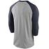 Nike Chicago Bears T-Shirt 3/4 Sleeve Wordmark Football grau/marine (2)