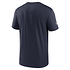 Nike New England Patriots T-Shirt Team Name Sideline navy (2)