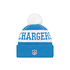 New Era Los Angeles Chargers Beanie On Field Sport Knit blau (2)