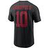 Nike San Francisco 49ers T-Shirt Player Garoppolo 10 schwarz (2)