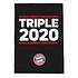 FC Bayern München Bettwäsche Triple 2020 Schwarz (2)