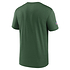 Nike New York Jets T-Shirt Team Name Sideline grün (2)