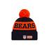 New Era Chicago Bears Beanie On Field Sport Knit schwarz/orange (2)