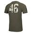 New Era San Francisco 49ers T-Shirt Camo Injection grün (2)
