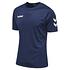 hummel 2er Set T-Shirt Core Poly Marine/Grün (2)