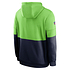 Nike Seattle Seahawks Hoodie Team Lockup Therma college grün/navy (2)