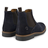 TRAVELIN OUTDOOR Boot Glasgow Suede Chelsea blau (2)