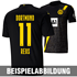 Puma Borussia Dortmund Trikot Auswärts 2020/2021 Kinder (7)