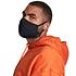 URBAN CLASSICS 4er Set Mund-Nase Maske Erwachsene Blanko schwarz (7)