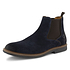 TRAVELIN OUTDOOR Boot Glasgow Suede Chelsea blau (7)