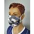 5er Set Mund-Nase Maske Camo Weiß (4)