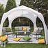 Siena Garden Sommer-Pavillon 320x320 cm Weiß (4)