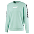Puma Sweatshirt Amplified mit T-Shirt Amplified 2er Set mintgrün (4)