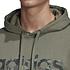 Adidas Hoodie Camo LIN Oliv (4)