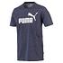 Puma T-Shirt ESS 2er Set Blau/Rot (4)