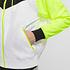 Nike Kapuzenjacke Windrunner Weiß/Schwarz/Neon (4)