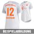 Adidas FC Bayern München Trikot 2020/2021 Auswärts Damen (4)