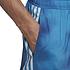 Adidas Freizeit-und Badeshorts 3S F CLX Blau/Weiß (4)