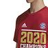 Adidas FC Bayern München T-Shirt CL Sieger 2020 Rot (4)