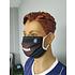 PICK SIX 3er Set Mund-Nase Maske FOOTBALL Schwarz (4)