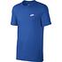 Nike T-Shirt CLUB Futura 3er Set Dunkelblau/Blau/Grau (4)