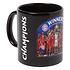 FC Bayern München T-Shirt CHAMPIONS 2020 + Tasse Champion Schwarz/Schwarz (4)