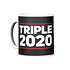 Adidas FC Bayern München T-Shirt Triple Sieger 2020 + Tasse Triple Schwarz/Schwarz (4)
