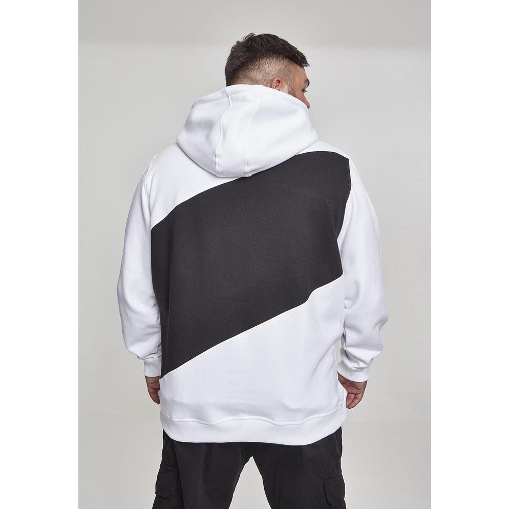 Hoodie Schwarz Weiß