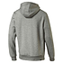 Puma Hoodie ESS No. 1 mit T-Shirt Rebel Basic 2er Set grau/weiß (3)