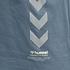 hummel T-Shirt Duncan Bio-Baumwolle china blue (3)
