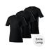 Cotton Butcher 6er Set T-Shirt Mix V-Neck 3+3 Schwarz/Weiß (3)
