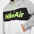 Nike Hoodie NIKE AIR Grau/Schwarz/Weiß (3)