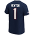 Fanatics New England Patriots T-Shirt Iconic N&N Newton No 1 navy (3)