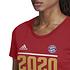 Adidas FC Bayern München T-Shirt CL Sieger 2020 Damen Rot (3)