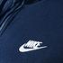 Nike ZIP Hoodie Sportswear Swoosh Blau (3)