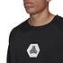 Adidas Sweatshirt TAN Schwarz (3)