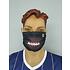PICK SIX 3er Set Mund-Nase Maske FOOTBALL Schwarz (3)