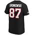Fanatics Tampa Bay Buccaneers T-Shirt Iconic N&N Gronkowski No 87 schwarz (3)