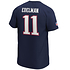 Fanatics New England Patriots T-Shirt Iconic N&N Edelman No 11 navy (3)