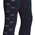 Adidas Tights Core Linear schwarz/pink (3)