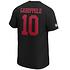 Fanatics San Francisco 49ers T-Shirt Iconic N&N Garoppolo No 10 schwarz (3)