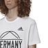 Adidas Deutschland T-Shirt GERMANY EM 2021 Weiß (3)