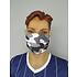 5er Set Mund-Nase Maske Camo Weiß (3)