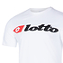 Lotto T-Shirt Athletica Due Logo weiß (3)