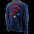 Fanatics NFL Shield Jacke True Classics Letterman navy (3)