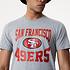 New Era San Francisco 49ers T-Shirt Team Logo grau (3)