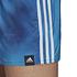 Adidas Freizeit-und Badeshorts 3S F CLX Blau/Weiß (3)