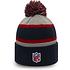 New Era New England Patriots Beanie Striped Cuff Knit blau (3)